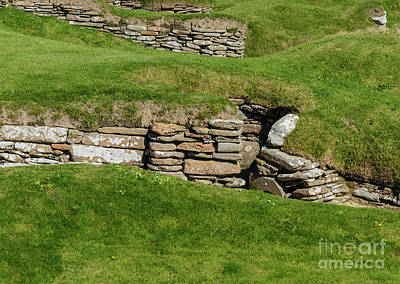 Photograph - Skara Brae #3 by Elvis Vaughn