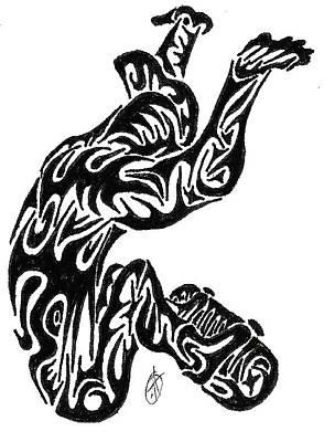 Skate  Art Print by AR Teeter