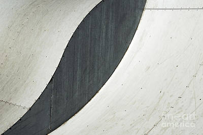 Photograph - Skate Parks Abstract by Wendy Wilton