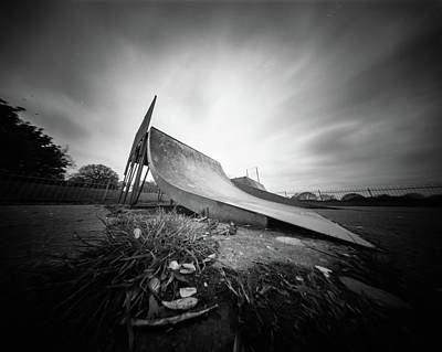 Photograph - Skate Ramp Pinhole Photo  by Will Gudgeon