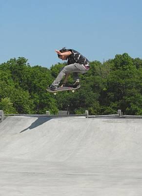 Grip Tape Photograph - Skateboarding 19 by Joyce StJames