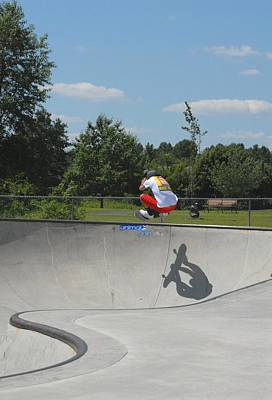 Grip Tape Photograph - Skateboarding 20 by Joyce StJames