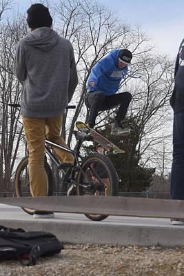 Grip Tape Photograph - Skateboarding 22 by Joyce StJames