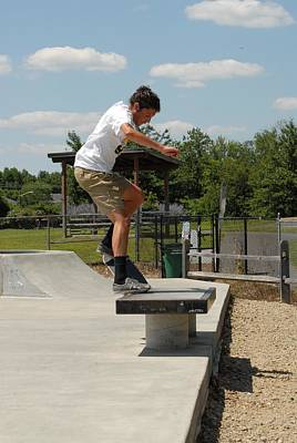 Grip Tape Photograph - Skateboarding 23 by Joyce StJames