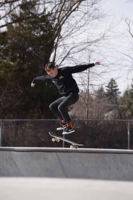 Grip Tape Photograph - Skateboarding 25 by Joyce StJames