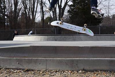 Grip Tape Photograph - Skateboarding 27 by Joyce StJames