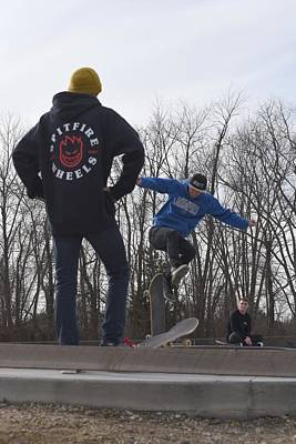 Grip Tape Photograph - Skateboarding 29 by Joyce StJames