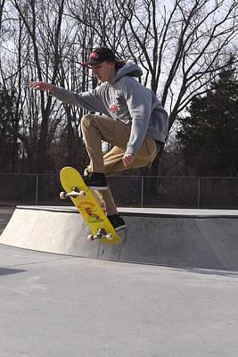 Grip Tape Photograph - Skateboarding 30 by Joyce StJames