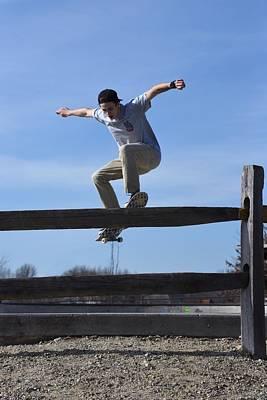 Grip Tape Photograph - Skateboarding 31 by Joyce StJames