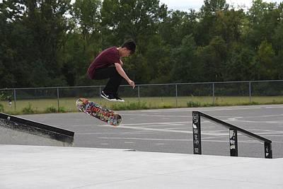 Grip Tape Photograph - Skateboarding 33 by Joyce StJames