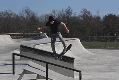 Grip Tape Photograph - Skateboarding 34 by Joyce StJames