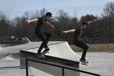 Grip Tape Photograph - Skateboarding 35 by Joyce StJames