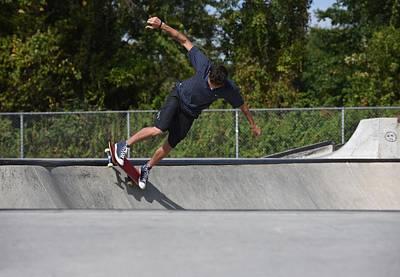 Grip Tape Photograph - Skateboarding 36 by Joyce StJames
