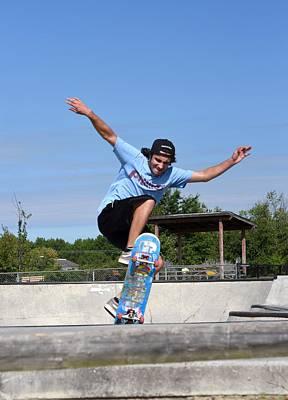 Grip Tape Photograph - Skateboarding 37 by Joyce StJames