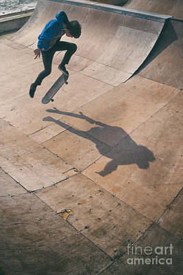 Photograph - Skater Boy 001 by Clayton Bastiani
