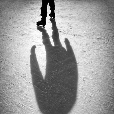 Skater Art Print by Dave Bowman