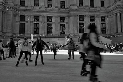 Photograph - Skating by Dorin Adrian Berbier