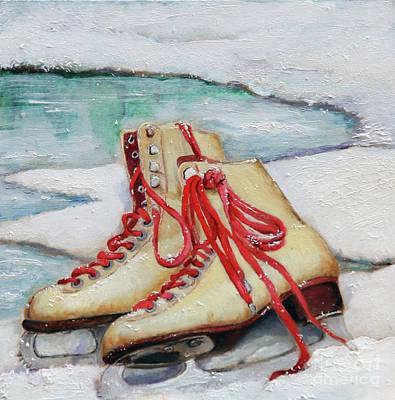 Skating Painting - Skating Dreams by Enzie Shahmiri