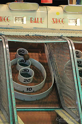 Photograph - Skee Ball At Marty's Playland by Robert Banach
