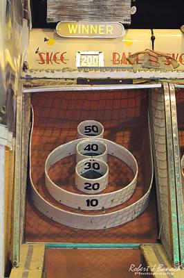 Photograph - Skee Ball Winner by Robert Banach