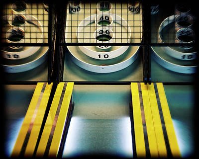Photograph - Skeeball Arcade Photography by Melanie Alexandra Price