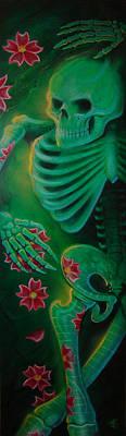 Skeleton Charm Original by Joshua South