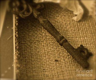 Photograph - Skeleton Key by Ann E Robson
