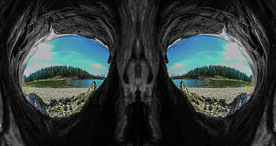 Photograph - Skeleton Lake by Rand