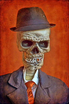 Dia De Los Muertos Photograph - Skeleton Man by Nikolyn McDonald