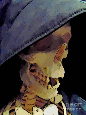 Skeleton Profile Original by John Malone