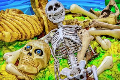 Photograph - Skeleton Soup On Tillson Street by LeeAnn McLaneGoetz McLaneGoetzStudioLLCcom