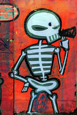 Photograph - Skeleton Vag 2 by Pierre Leclerc Photography