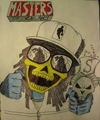 Skeletor Is Lil' Jon Art Print by Alexander Holmes