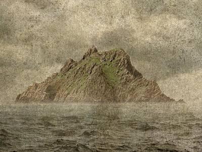 Epic Digital Art - Skellig Island by Brett Pfister