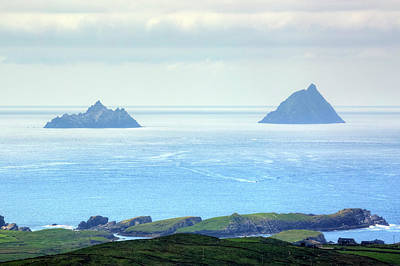 Portmagee Wall Art - Photograph - Skellig Islands - Ireland by Joana Kruse
