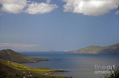 Photograph - Skellig Rocks Ireland by Cindy Murphy - NightVisions