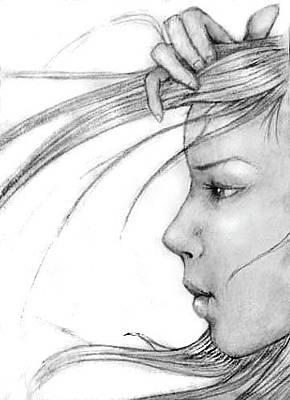 Carolyn Anderson Drawing - Sketch #1 by Carolyn Anderson