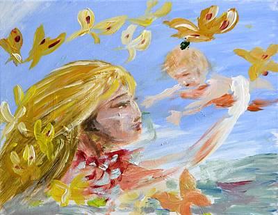 Painting - Sketch 1 by Katerina Naumenko
