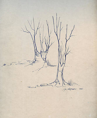 Sketch 4 Art Print by Joan Kamaru