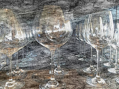 Photograph - Wine Glasses by Jonathan Nguyen