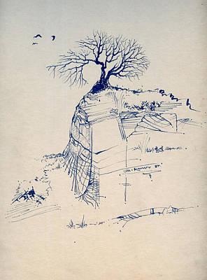 Sketch 7 Art Print by Joan Kamaru