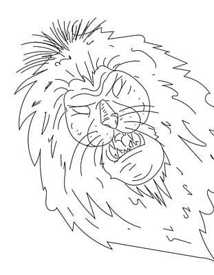 Digital Art - Sketch A15 by Robert Watson