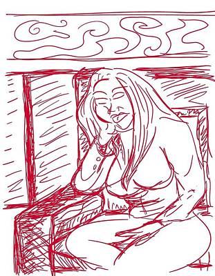 Digital Art - Sketch A2 by Robert Watson
