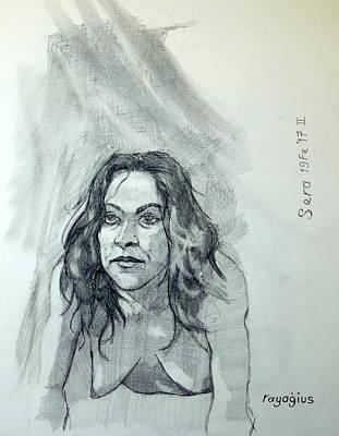 Sketch For Sera.10.01 Original by Ray Agius