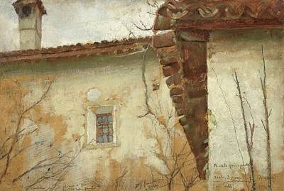 Old Home Place Painting - Sketch For The Painting Titled by MotionAge Designs