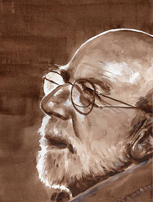 Painting - Sketch Of Bill by John Neeve