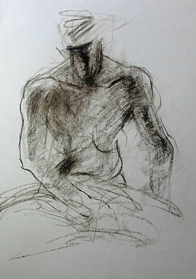 Drawing - Sketch Of Torso by Harry Robertson