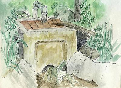 Painting - Sketchbook 003 by David King