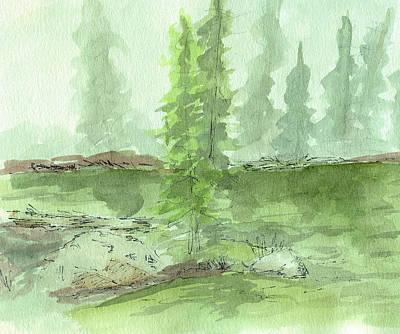 Painting - Sketchbook 005 by David King
