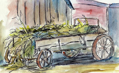 Painting - Sketchbook 008 by David King